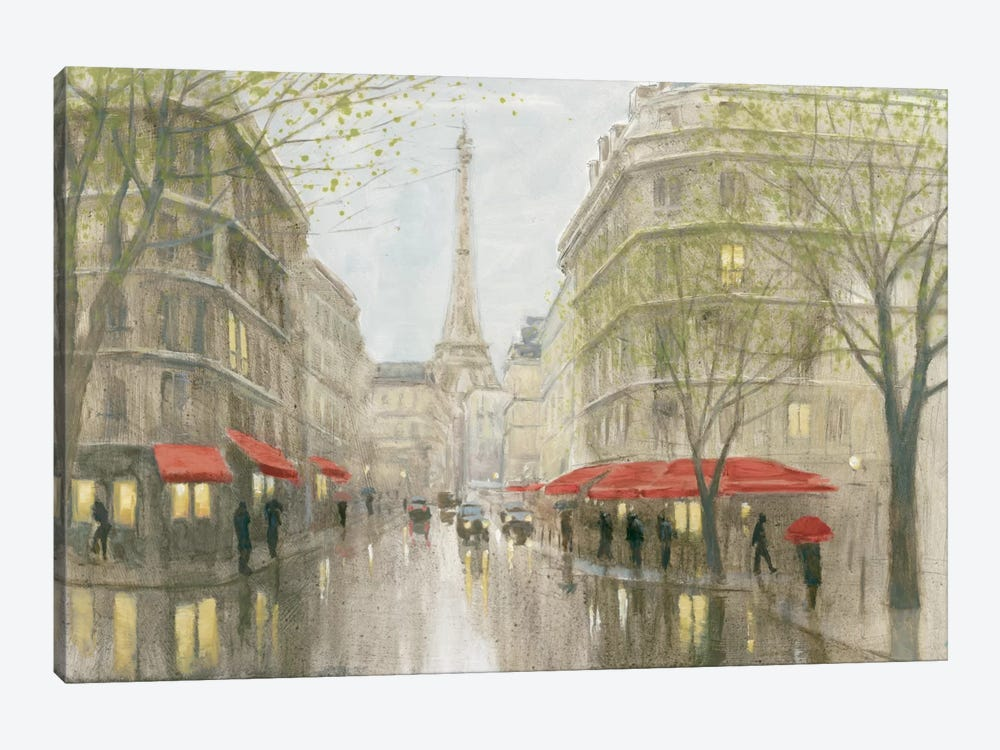 Impression Of Paris by Myles Sullivan 1-piece Canvas Wall Art