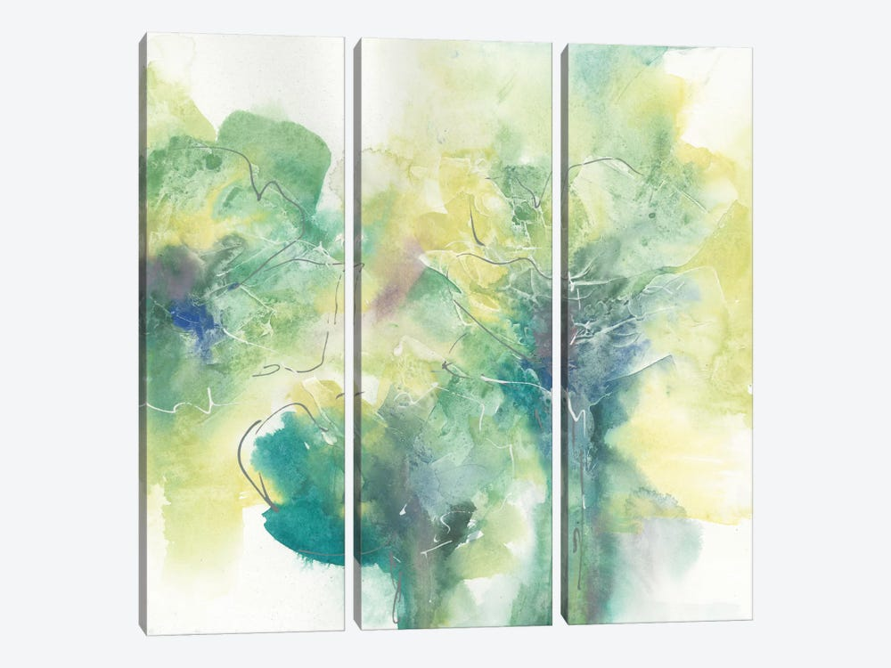 Garden I by Chris Paschke 3-piece Canvas Wall Art
