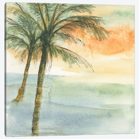 Island Sunset I Canvas Print #WAC4637} by Chris Paschke Art Print