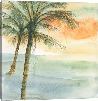 Island Sunset I Canvas Art Print
