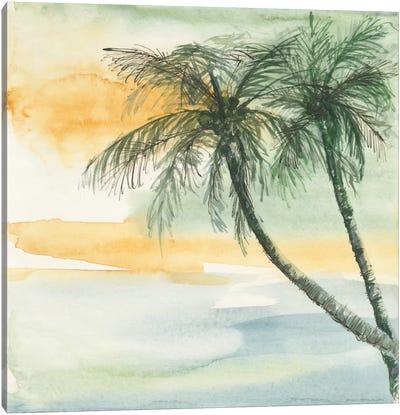 Island Sunset II Canvas Art Print
