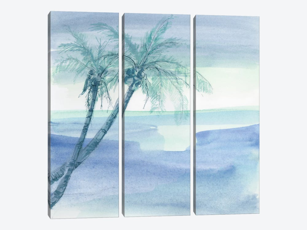 Peaceful Dusk I by Chris Paschke 3-piece Canvas Art Print