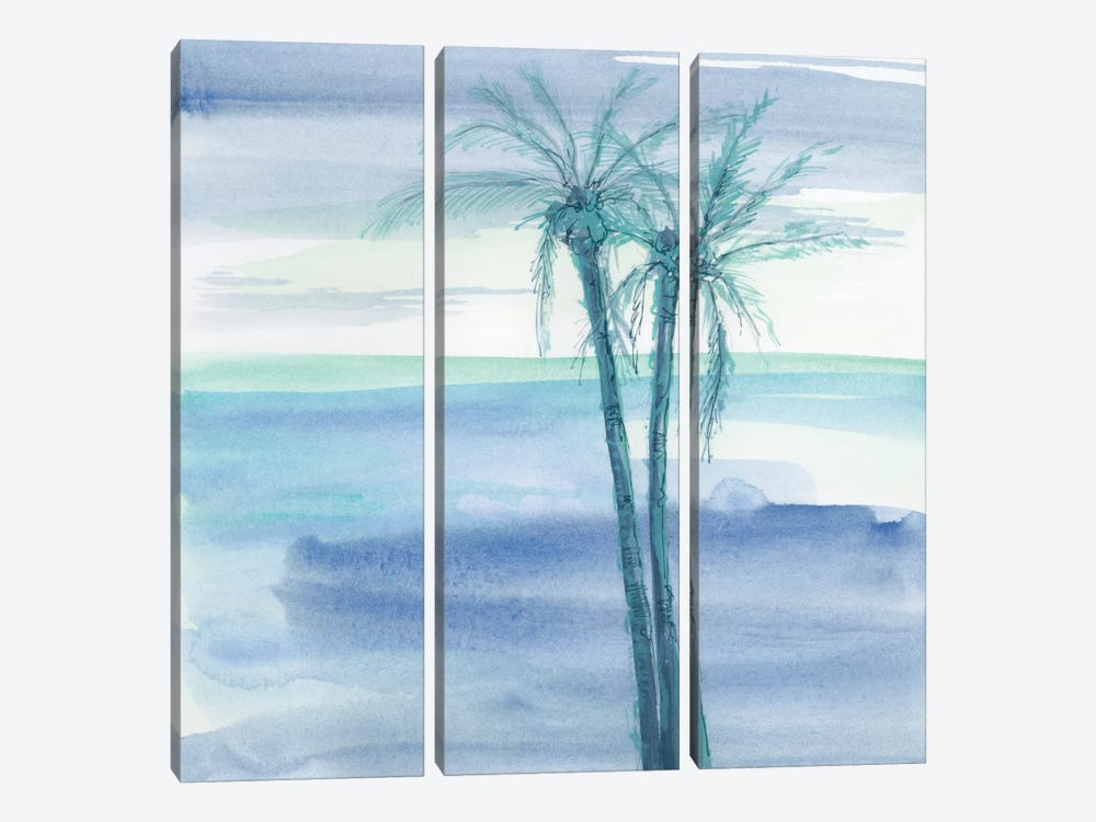 Peaceful Dusk II by Chris Paschke 3-piece Canvas Artwork