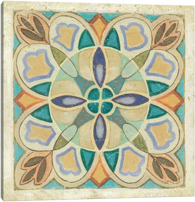 Birds Garden Tile III  Canvas Art Print