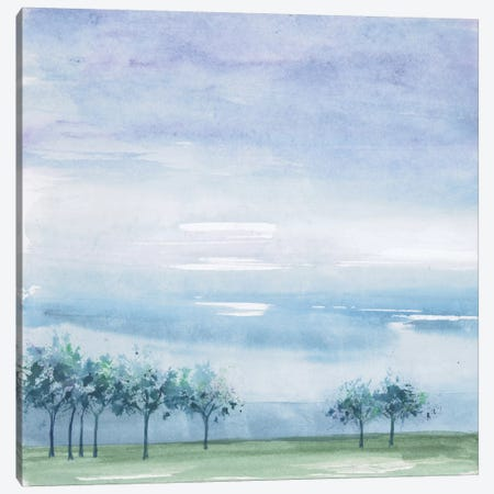 Rain On The Plain Canvas Print #WAC4650} by Chris Paschke Canvas Artwork