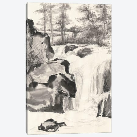 Sumi Waterfall I Canvas Print #WAC4656} by Chris Paschke Canvas Print