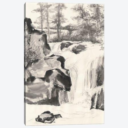 Sumi Waterfall I Canvas Print #WAC4656} by Chris Paschke Canvas Print