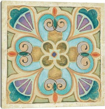 Birds Garden Tile IV  Canvas Print #WAC465