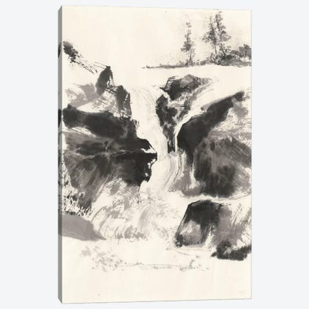 Sumi Waterfall V Canvas Print #WAC4660} by Chris Paschke Canvas Art Print
