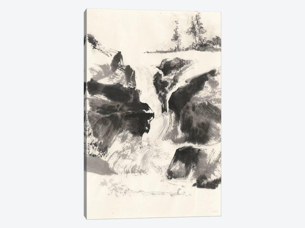Sumi Waterfall V by Chris Paschke 1-piece Canvas Wall Art
