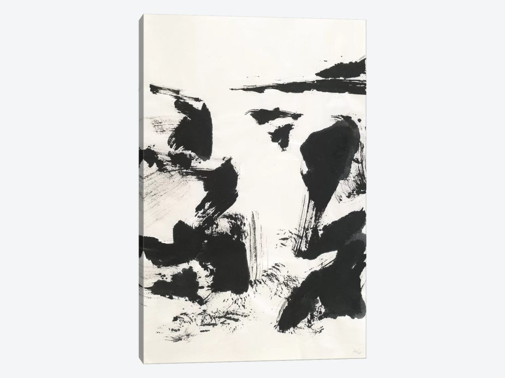 Sumi Waterfall VI by Chris Paschke 1-piece Canvas Art Print