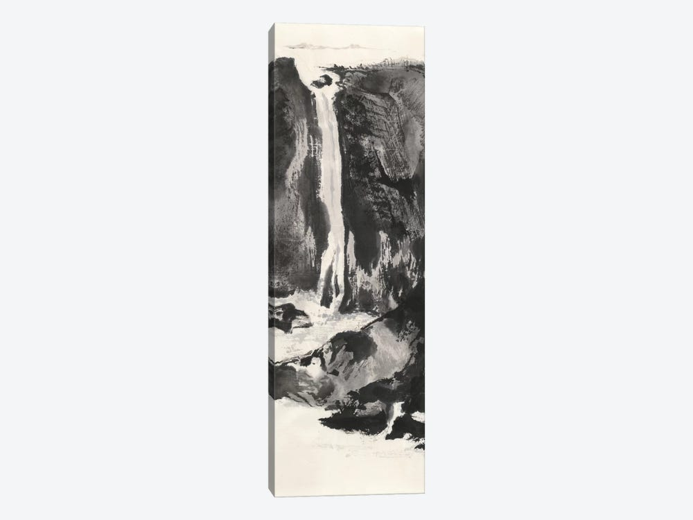 Sumi Waterfall VIew I by Chris Paschke 1-piece Canvas Art
