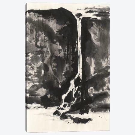 Sumi Waterfall VIew II Canvas Print #WAC4663} by Chris Paschke Canvas Print
