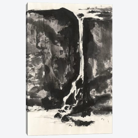 Sumi Waterfall VIew II Canvas Print #WAC4663} by Chris Paschke Canvas Print