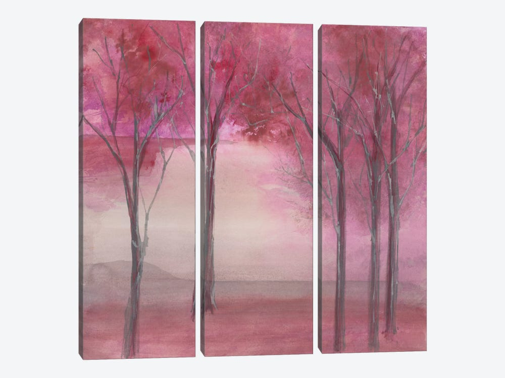 Under The Trees by Chris Paschke 3-piece Canvas Wall Art