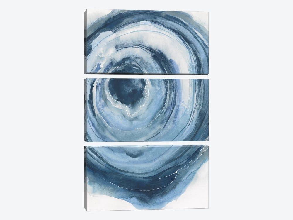 Watercolor Geode III by Chris Paschke 3-piece Canvas Print