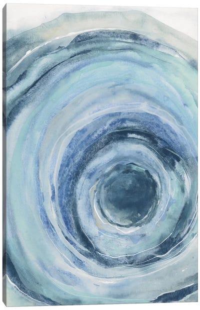 Watercolor Geode IX Canvas Art Print