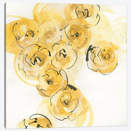 Yellow Roses Anew I Canvas Print #WAC4673} by Chris Paschke Canvas Wall Art