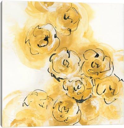 Yellow Roses Anew II Canvas Print #WAC4674