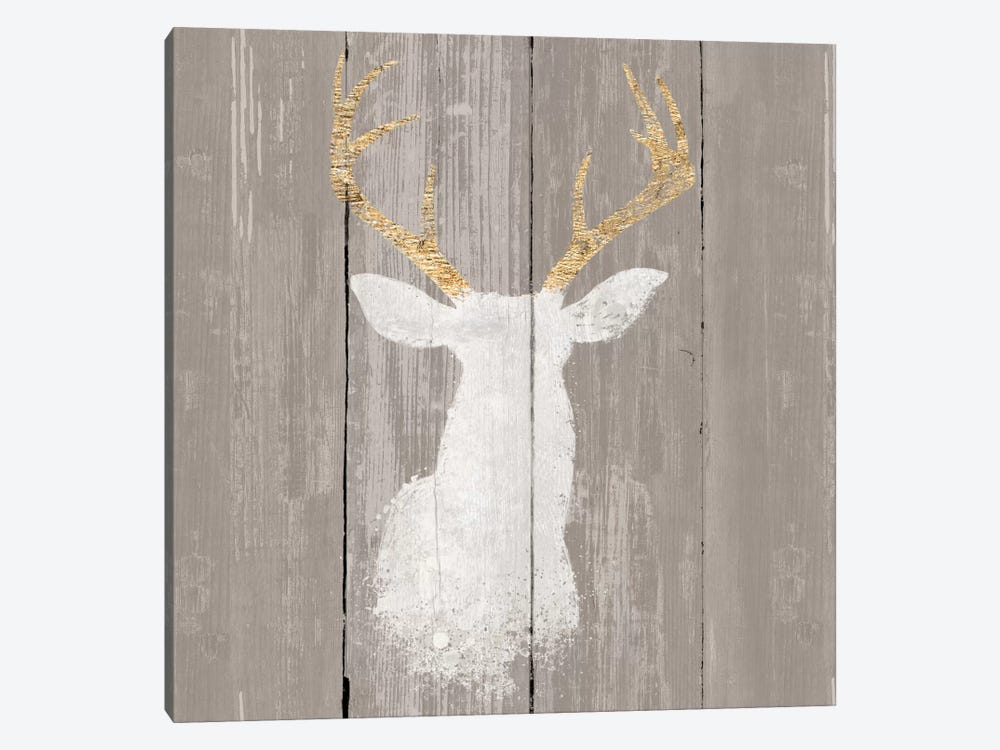 Precious Antlers I by Wellington Studio 1-piece Canvas Wall Art