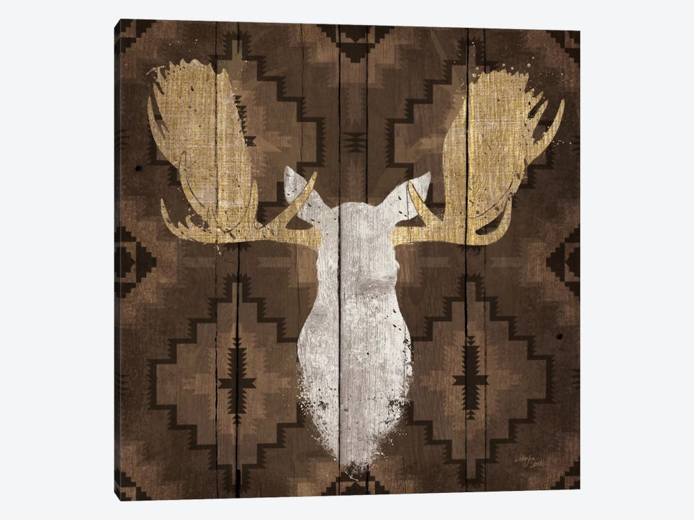 Precious Antlers III by Wellington Studio 1-piece Canvas Artwork