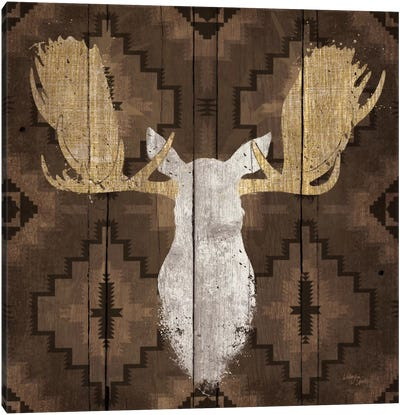 Precious Antlers III Canvas Art Print