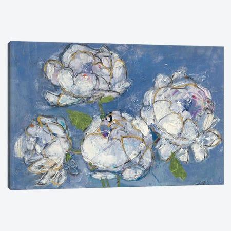 Vase Of Peonies Canvas Print #WAC4696} by Kellie Day Canvas Print