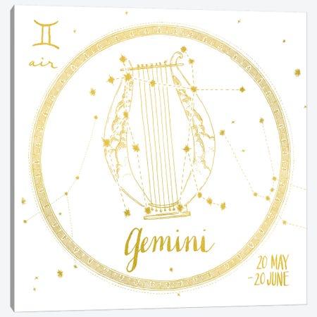 Gemini Canvas Print #WAC4701} by Sara Zieve Miller Canvas Wall Art