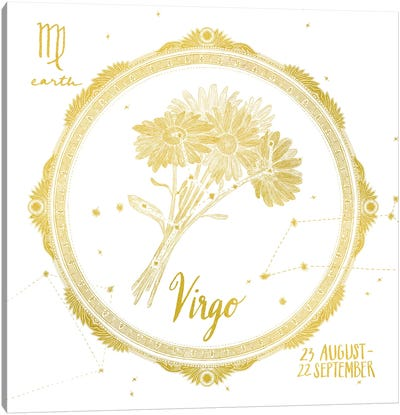 VIrgo Canvas Art Print