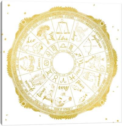 Night Sky Series: Zodiac Canvas Print #WAC4709