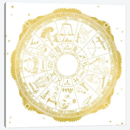Zodiac Canvas Print #WAC4709} by Sara Zieve Miller Canvas Wall Art