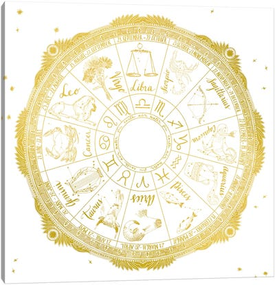 Zodiac Canvas Art Print