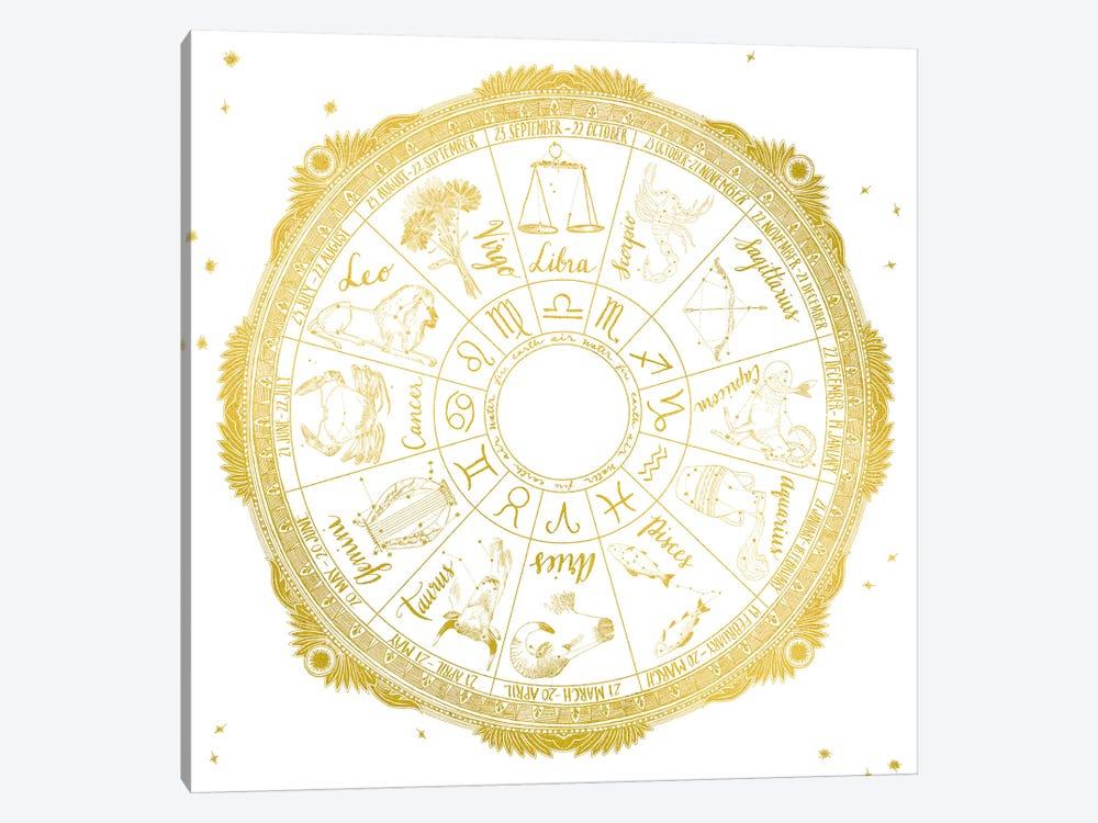 Zodiac by Sara Zieve Miller 1-piece Canvas Wall Art