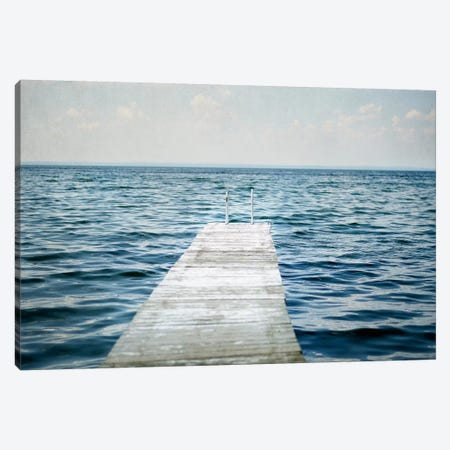 Calm Days I Canvas Print #WAC4710} by Elizabeth Urquhart Canvas Art Print