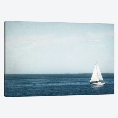 Calm Days II Canvas Print #WAC4711} by Elizabeth Urquhart Canvas Art Print