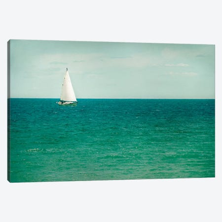 Mint Cottage Days III Crop Canvas Print #WAC4717} by Elizabeth Urquhart Canvas Art