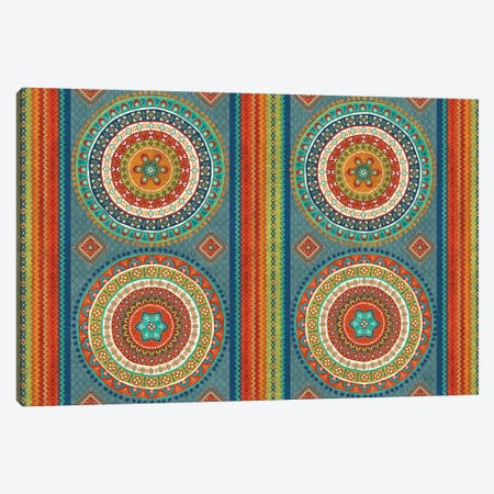 Mexican Fiesta IX Canvas Print #WAC4721} by Veronique Charron Canvas Artwork