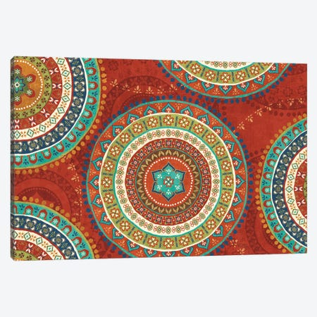 Mexican Fiesta VII Canvas Print #WAC4722} by Veronique Charron Canvas Art