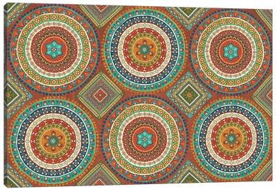 Mexican Fiesta X Canvas Art Print