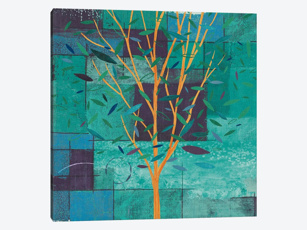 Watercolor Forest V by Veronique Charron 1-piece Canvas Wall Art