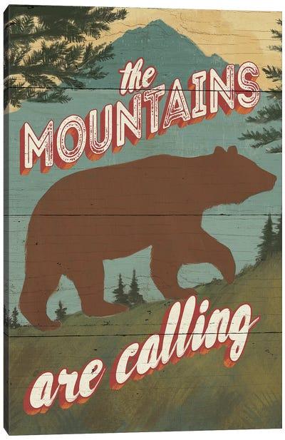 Discover The Wild I Canvas Print #WAC4730