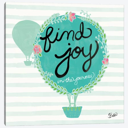 Find Joy Canvas Print #WAC4736} by Studio Bella Canvas Artwork