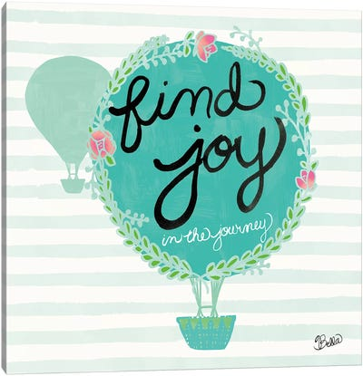 Find Joy Canvas Art Print