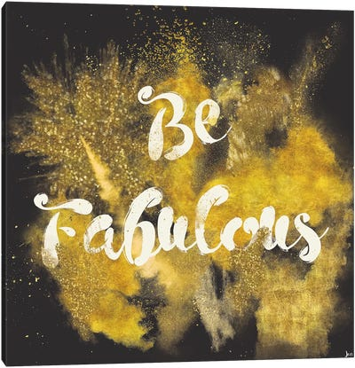 Glitter And Gold I Canvas Art Print