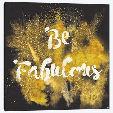 Glitter And Gold I Canvas Print #WAC4744} by Jess Aiken Canvas Art Print