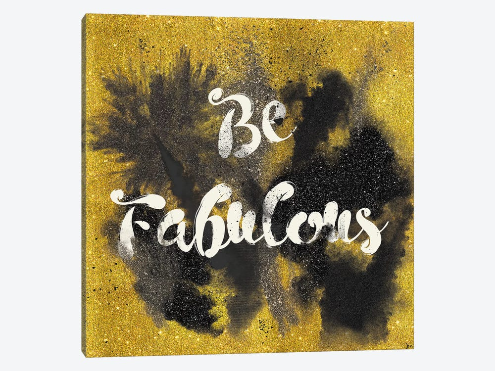 Glitter And Gold I.A by Jess Aiken 1-piece Canvas Wall Art