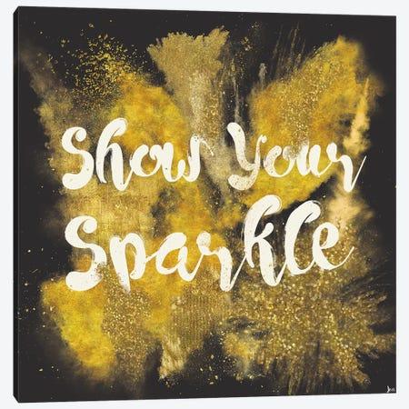 Glitter And Gold II Canvas Print #WAC4746} by Jess Aiken Art Print