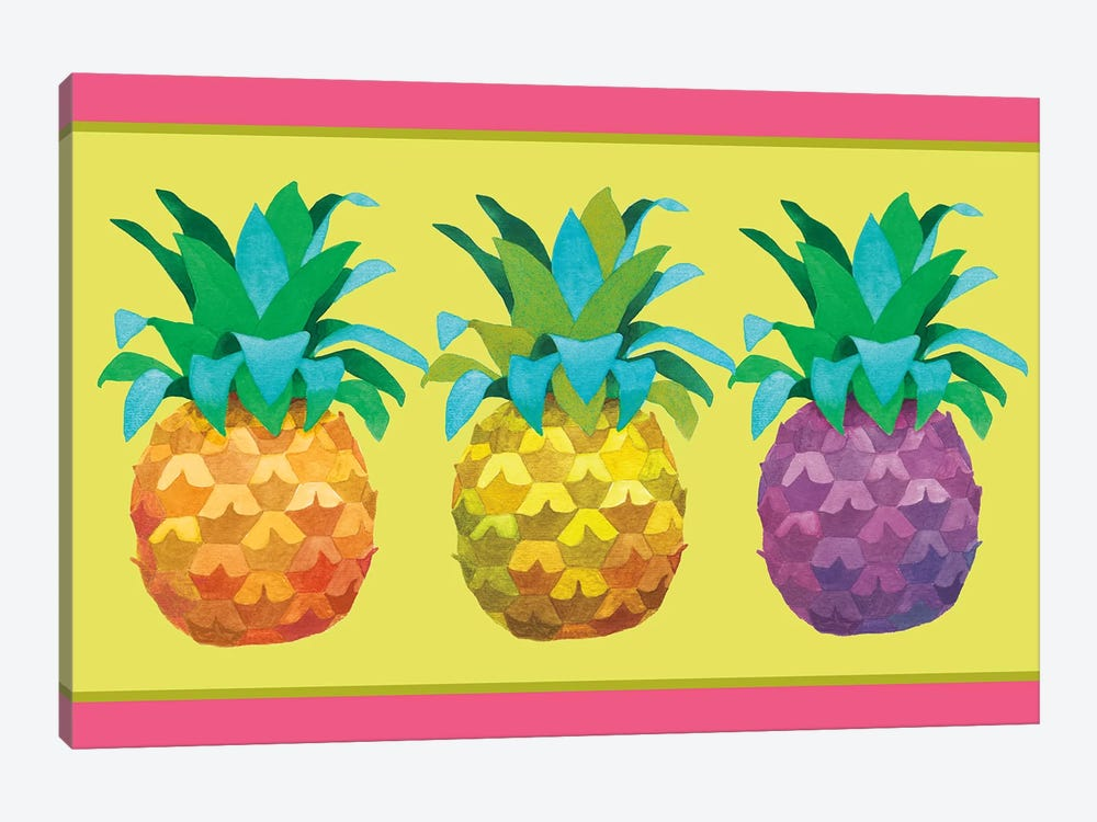 Island Time Pineapples I by Beth Grove 1-piece Art Print