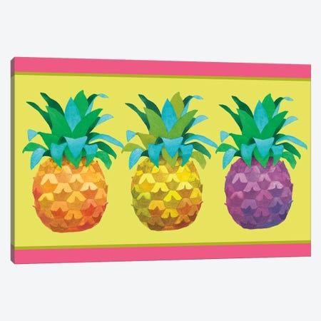 Island Time Pineapples I Canvas Print #WAC4753} by Beth Grove Art Print