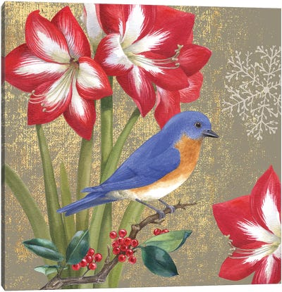 Bluebird I Canvas Art Print